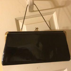 Vintage patent Leather purse from Paris